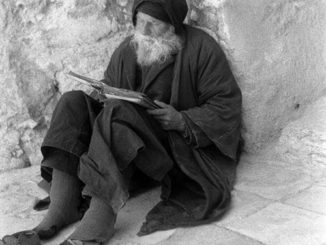 Pustnic sfânt din Muntele Athos
